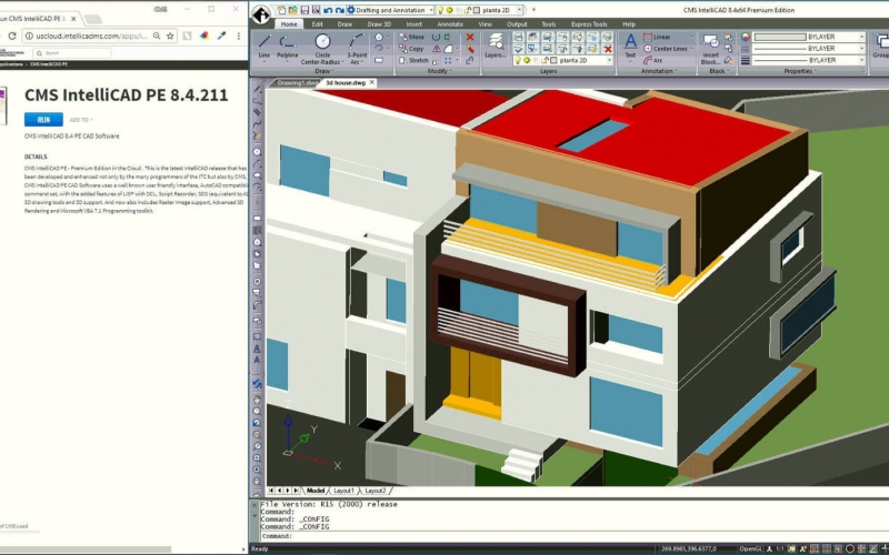 New Cloud-based CMS IntelliCAD 8.4 Premium Edition 2D & 3D Compatible CAD Software
